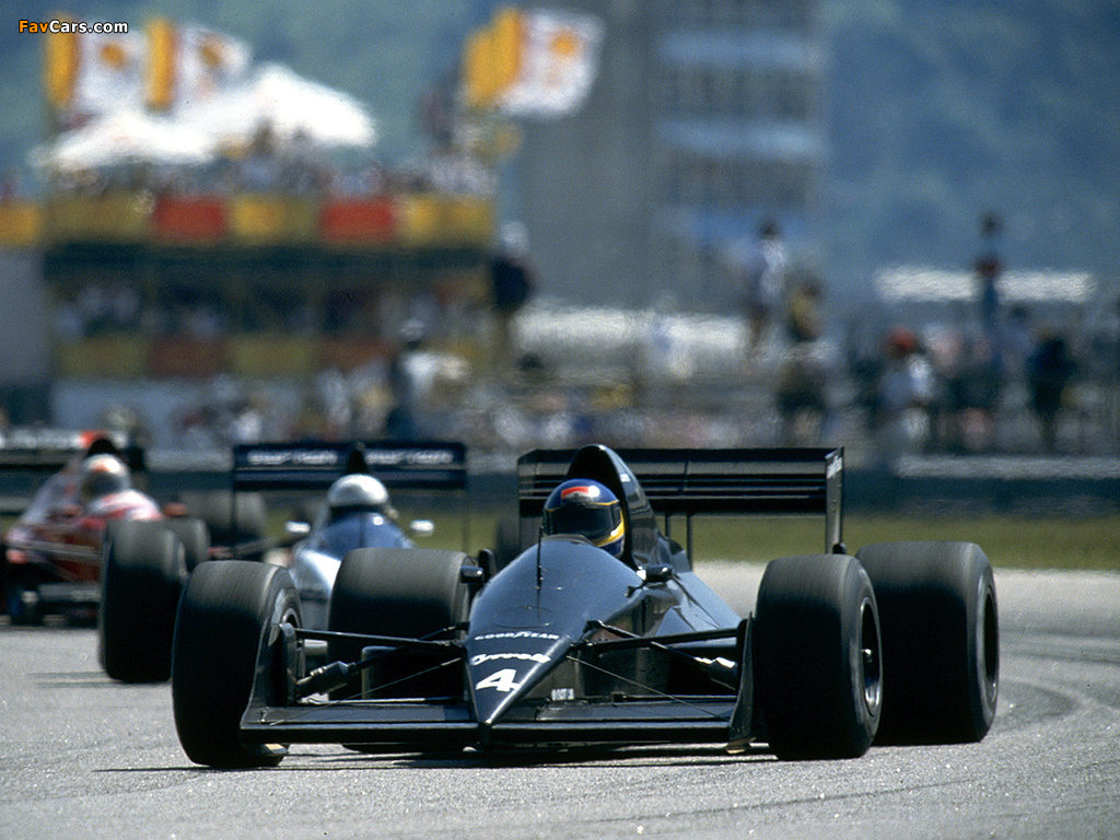 Images of Tyrrell 017B 1989 (1024 x 768)