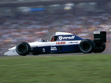 Tyrrell 020B 1992 images