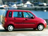 Vauxhall Agila 2000–04 images