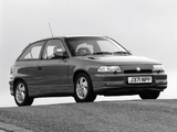 Images of Vauxhall Astra GSi 1991–95