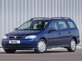 Images of Vauxhall Astra Estate 1998–2004