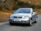 Images of Vauxhall Astra Coupe 2000–05