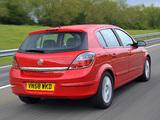 Images of Vauxhall Astra ecoFLEX 5-door 2008–09