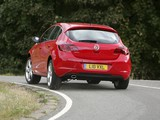 Images of Vauxhall Astra Turbo 2009–12