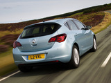 Images of Vauxhall Astra 2009–12