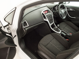 Images of Vauxhall Astra SRi 2012–15