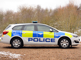 Images of Vauxhall Astra Sports Tourer Police 2012