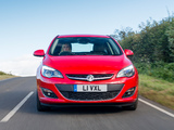 Images of Vauxhall Astra SRi Turbo 2012