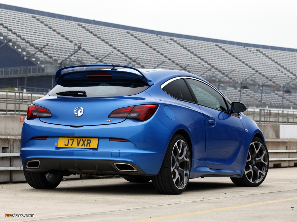 Images of Vauxhall Astra VXR 2012 (1024 x 768)
