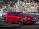 Images of Vauxhall Astra GTC Turbo 2013