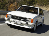 Photos of Vauxhall Astra GTE 1983–85