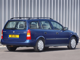 Photos of Vauxhall Astra Estate 1998–2004