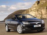 Photos of Vauxhall Astra TwinTop 2006–10