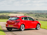 Photos of Vauxhall Astra SRi Turbo 2012