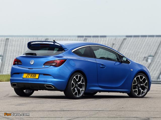 Photos of Vauxhall Astra VXR 2012 (640 x 480)