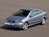 Pictures of Vauxhall Astra Turbo Coupe 2000–05