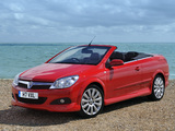 Pictures of Vauxhall Astra TwinTop Exclusiv XP 2008–10