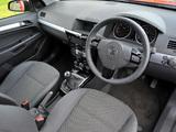 Pictures of Vauxhall Astra ecoFLEX 5-door 2008–09