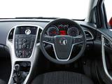 Pictures of Vauxhall Astra ecoFLEX 2009–12