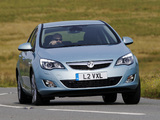 Pictures of Vauxhall Astra 2009–12