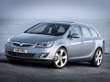 Pictures of Vauxhall Astra Sports Tourer 2010