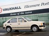Vauxhall Astra 5-door 1980–84 images
