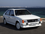 Vauxhall Astra GTE 1983–85 images