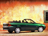 Vauxhall Astra Cabrio 1993–99 images