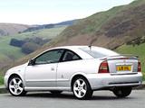 Vauxhall Astra Turbo Coupe 2000–05 photos