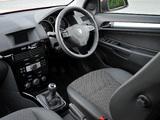 Vauxhall Astra ecoFLEX 5-door 2008–09 photos