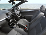 Vauxhall Astra TwinTop Exclusiv XP 2008–10 wallpapers