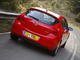 Vauxhall Astra ecoFLEX 2009–12 images