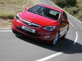 Vauxhall Astra Turbo 2009–12 photos