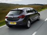 Vauxhall Astra 2009–12 photos