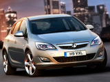 Vauxhall Astra 2009–12 pictures