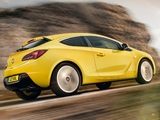 Vauxhall Astra GTC 2011 wallpapers