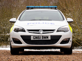 Vauxhall Astra Sports Tourer Police 2012 images