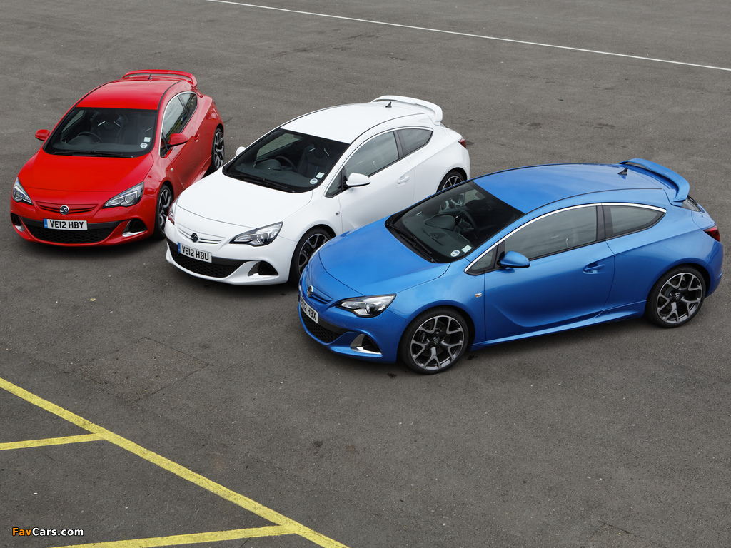 Vauxhall Astra VXR 2012 images (1024 x 768)
