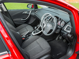 Vauxhall Astra SRi Turbo 2012 images