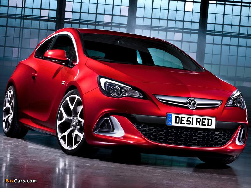 Vauxhall Astra VXR 2012 photos (800 x 600)
