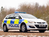 Vauxhall Astra Sports Tourer Police 2012 pictures