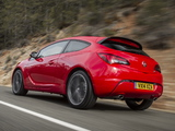 Vauxhall Astra GTC Turbo 2013 images