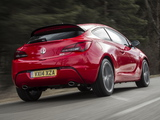 Vauxhall Astra GTC Turbo 2013 wallpapers