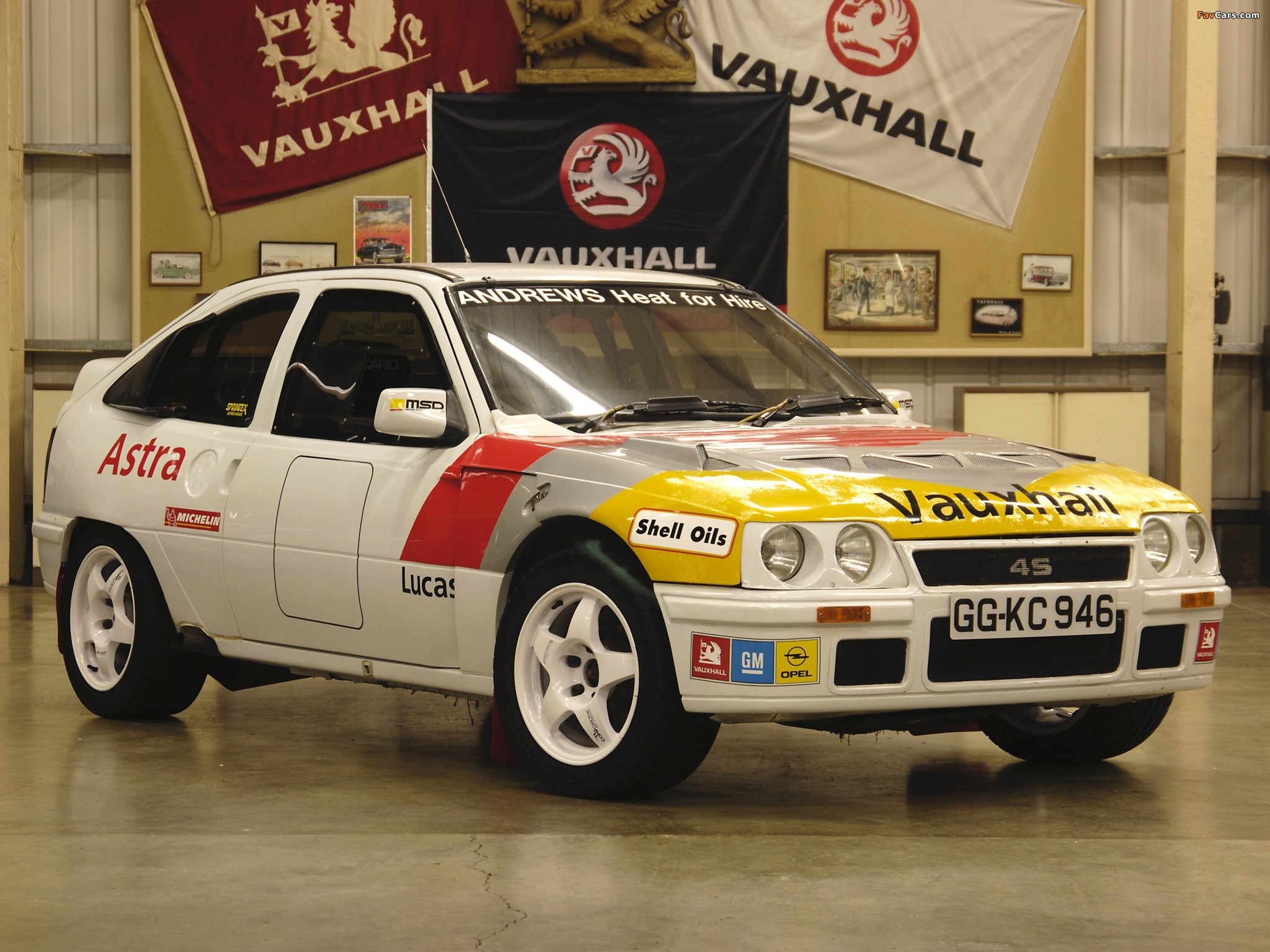 Vauxhall Astra GTE Rally Car 1984–91 wallpapers