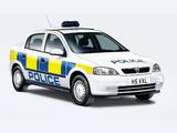Vauxhall Astra 5-door Police 1998–2004 wallpapers