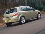 Vauxhall Astra 5-door 2004–07 wallpapers