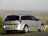 Vauxhall Astra Sport Estate 2007–10 wallpapers