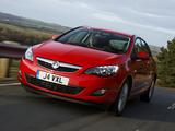 Vauxhall Astra ecoFLEX 2009–12 wallpapers