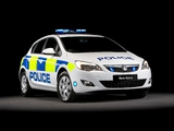 Vauxhall Astra Police 2010–12 wallpapers