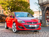 Vauxhall Astra SRi Turbo 2012 wallpapers